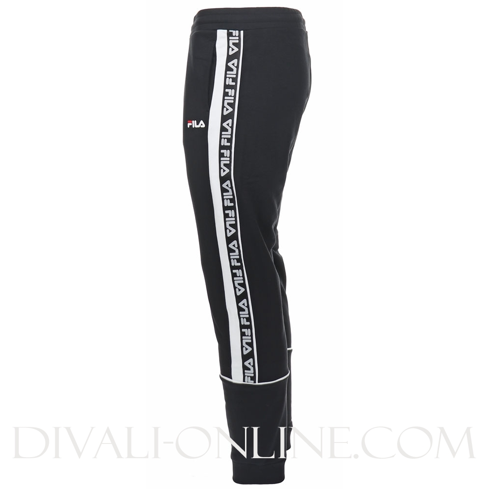 Men Tevin Sweat Pants Black-bright White