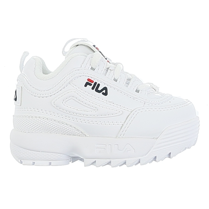 FILA Baby Sneaker Disruptor White