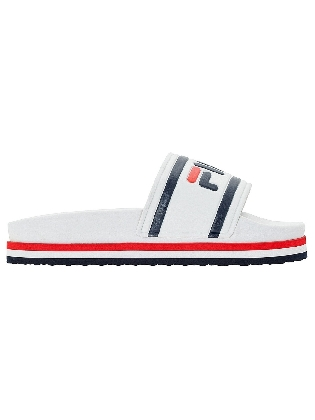 Slipper Morro Bay White/stripe