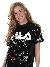 FILA Women Kyo Sequin T-shirt Black