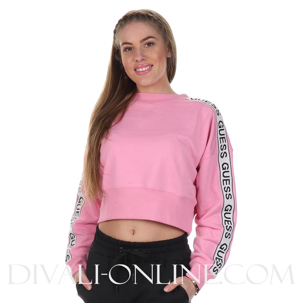 Cropped Sweater Hedda Fleece Gum Pop