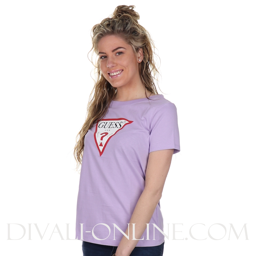 T-shirt Logo Lilac Honey