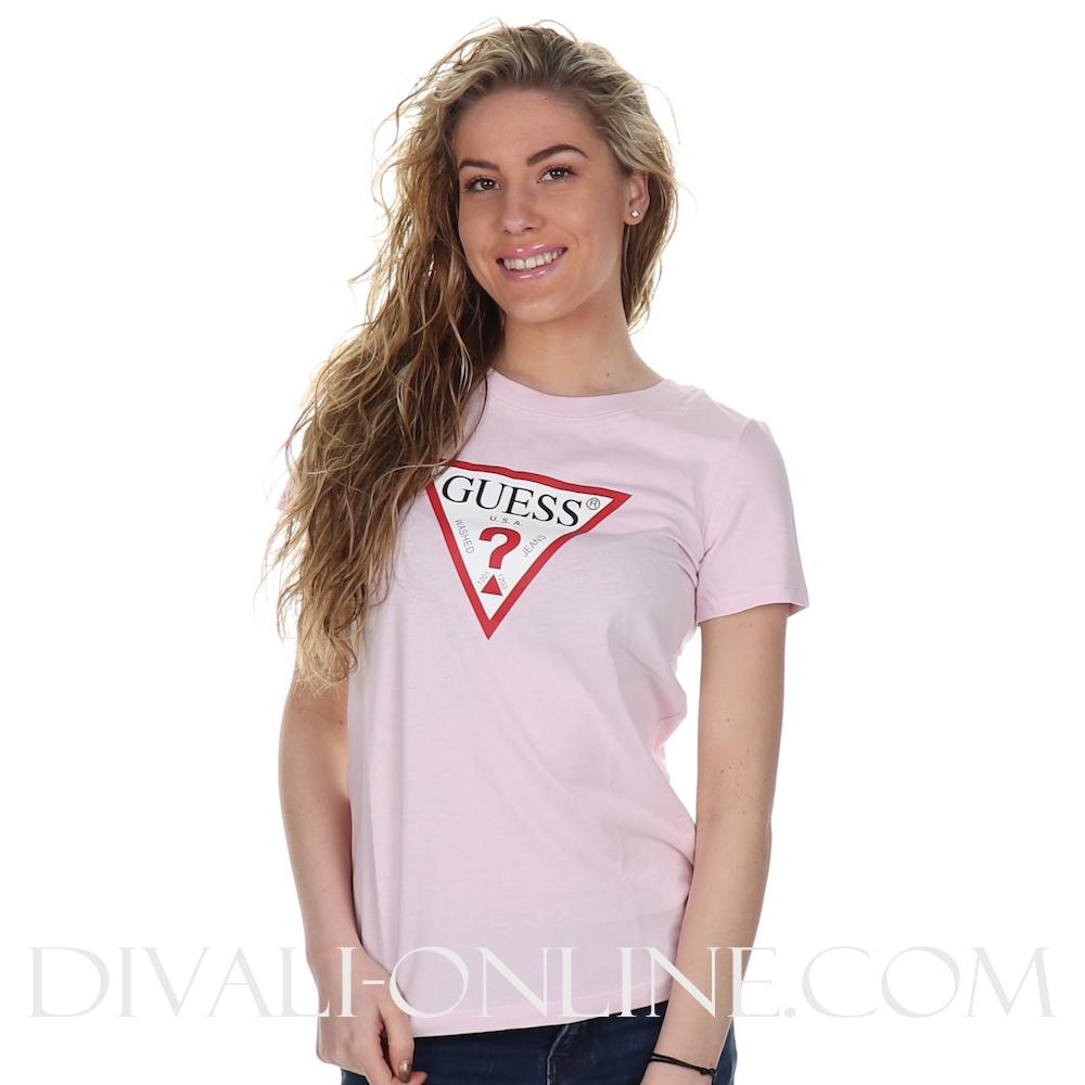 T-shirt Logo Pink Resort