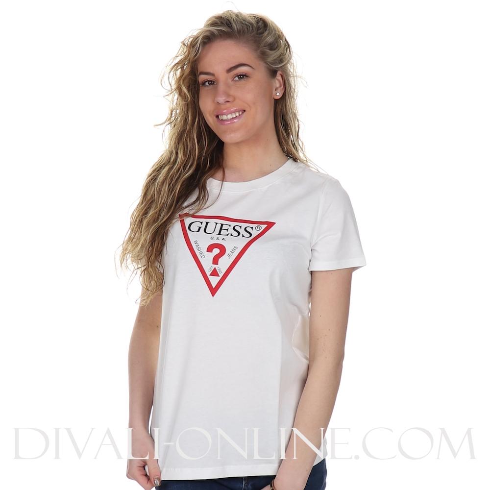 T-shirt Logo True White