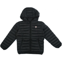 Guess Kids Unisex Padded Jacket Jet Black