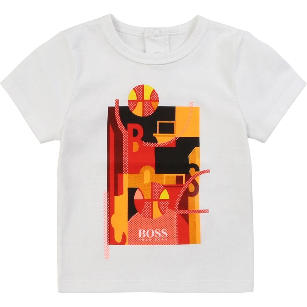 T-shirt Korte Mouwen Wit