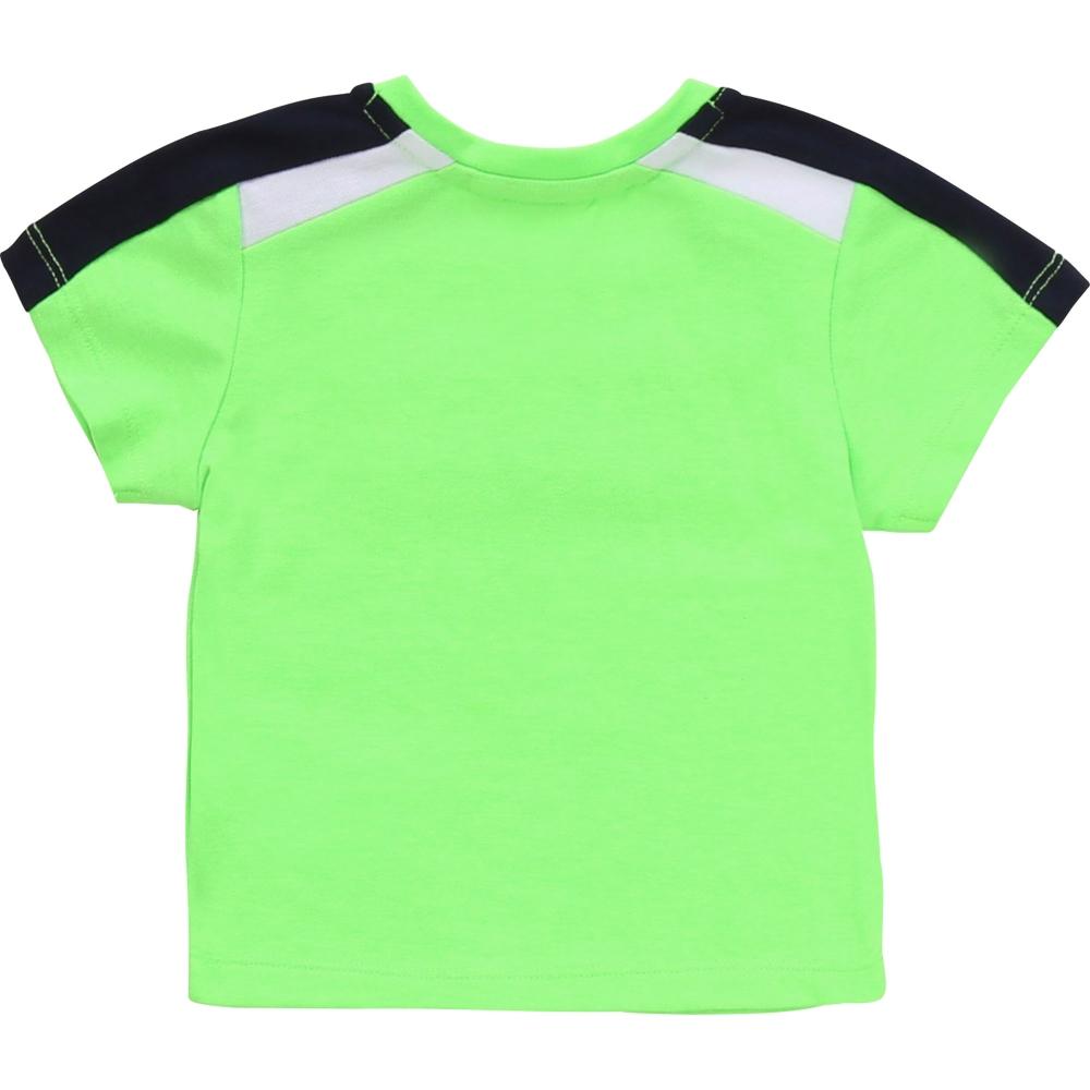 T-shirt Korte Mouwen Watergroen