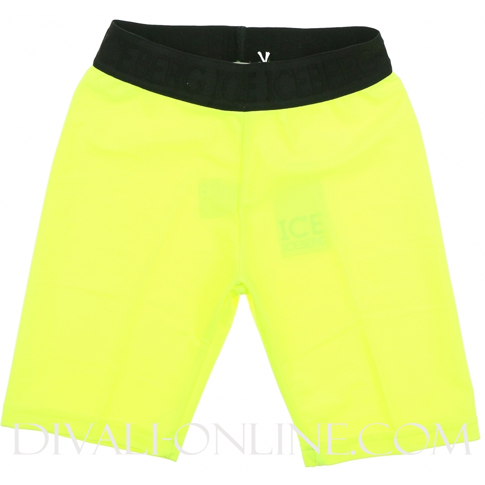 Ciclista In Lycra Lime