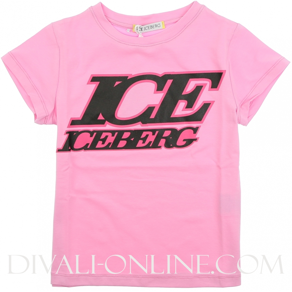 T-shirt In Jersey Rosa