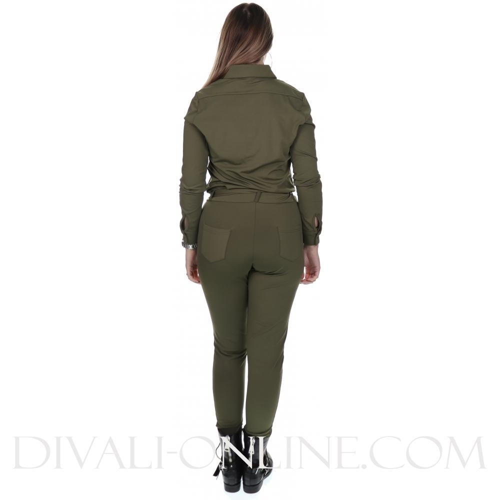 jumpsuit army travel kwaliteit