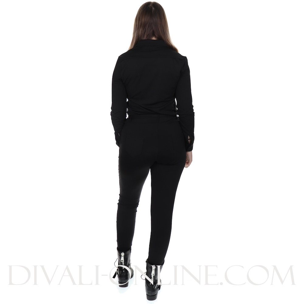 jumpsuit black travel kwaliteit