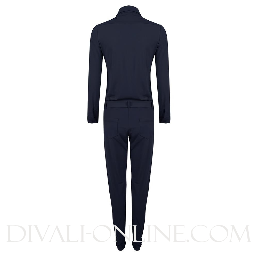 jumpsuit navy travel kwaliteit