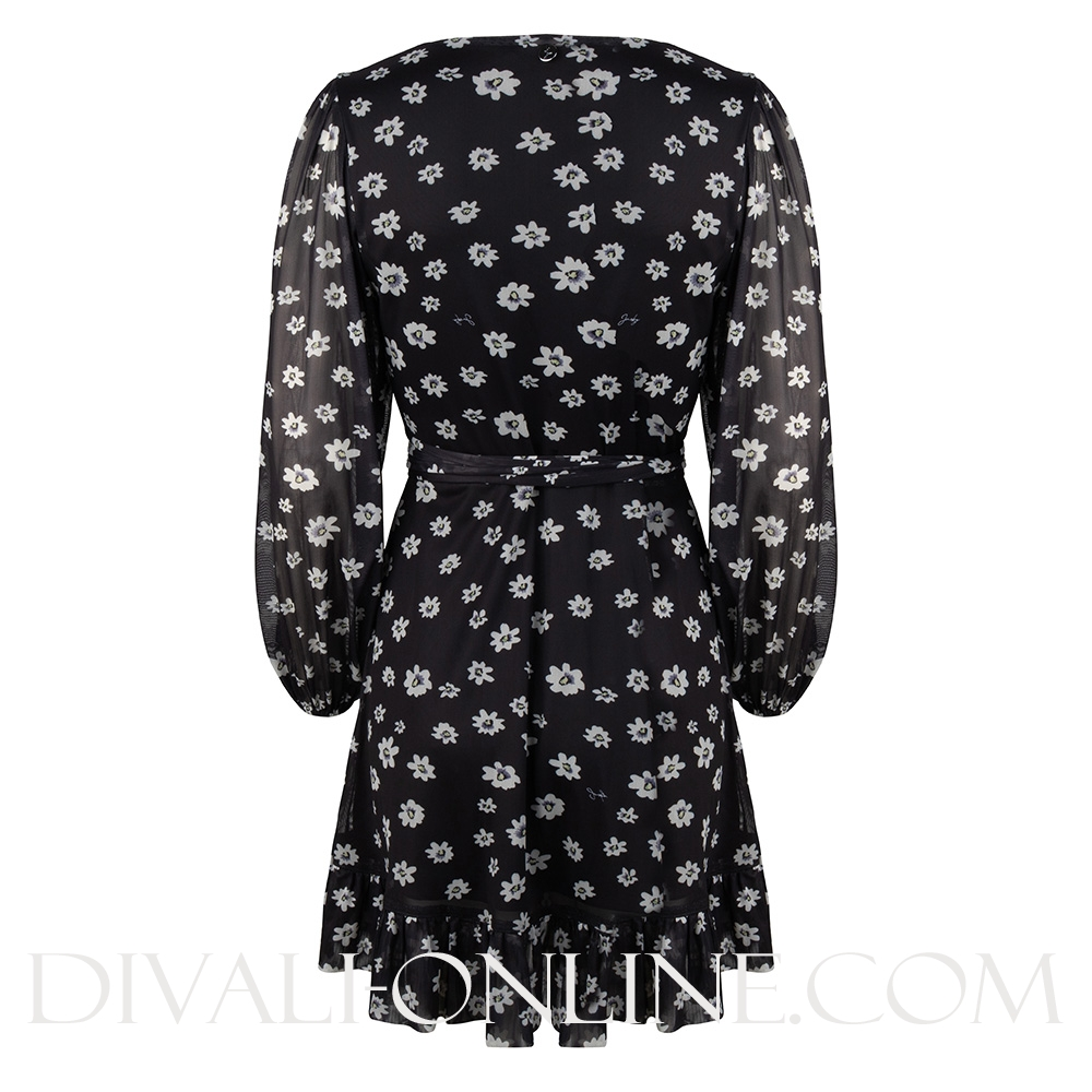 Dress Wrap Daisy Print Daisy Print