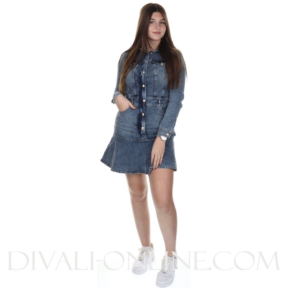 Dress Relena Blue Denim
