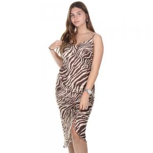Rosalinde Dress Zebra Cacao
