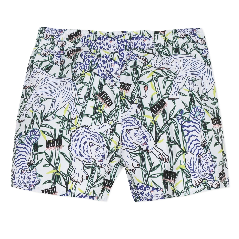 Boxer Short Disco Jungle Tb Optic White