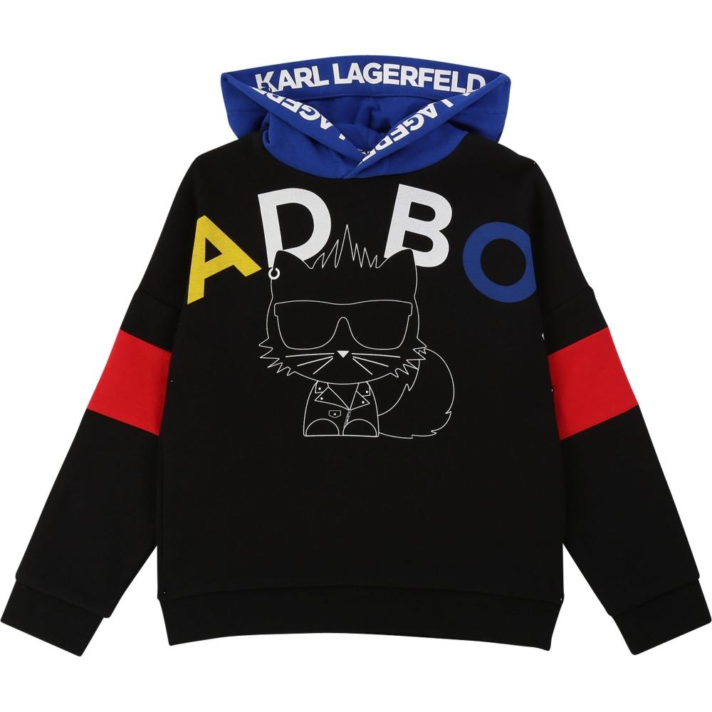 Sweater Black Multicolor