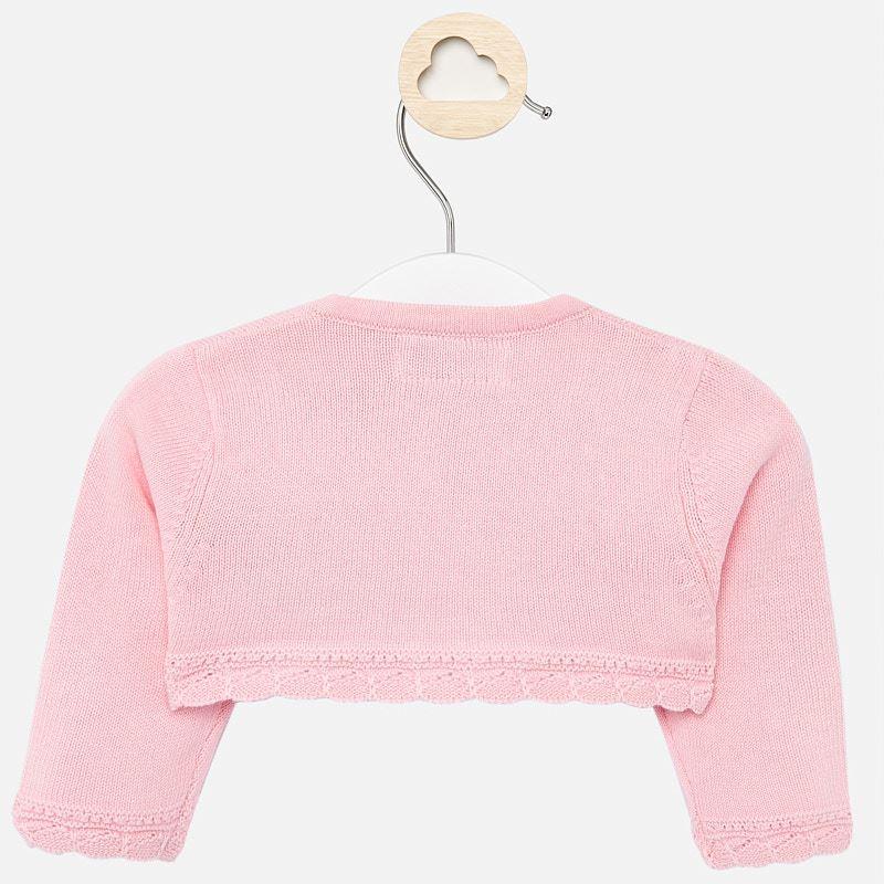 Basic knitted cardigan blush