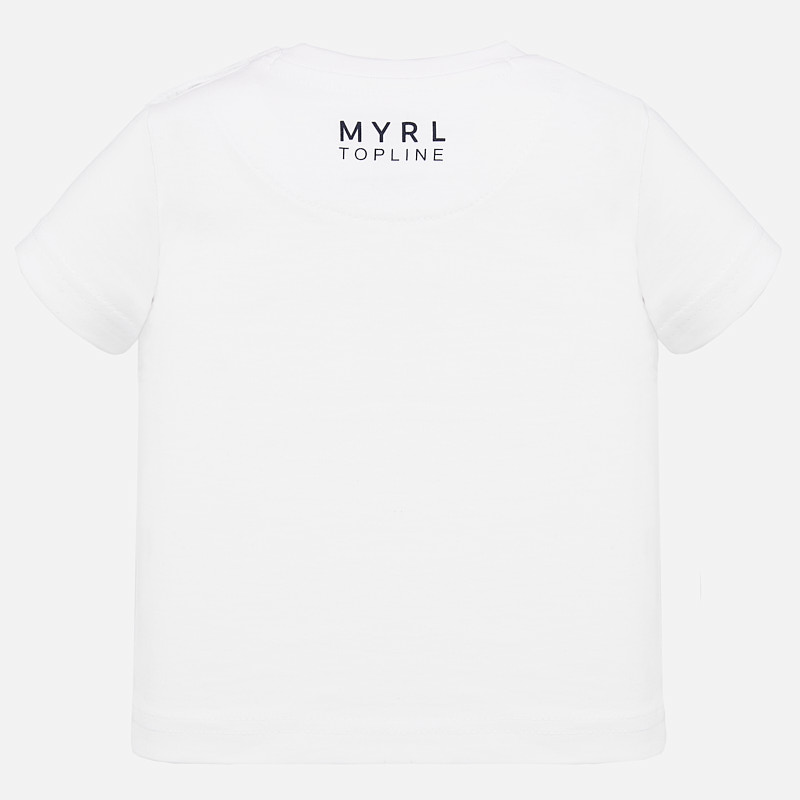 Top line t-shirt s/s white