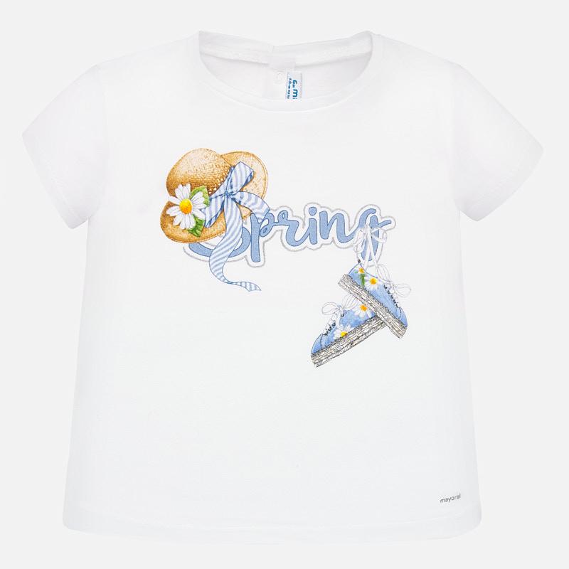 S/s t-shirt white
