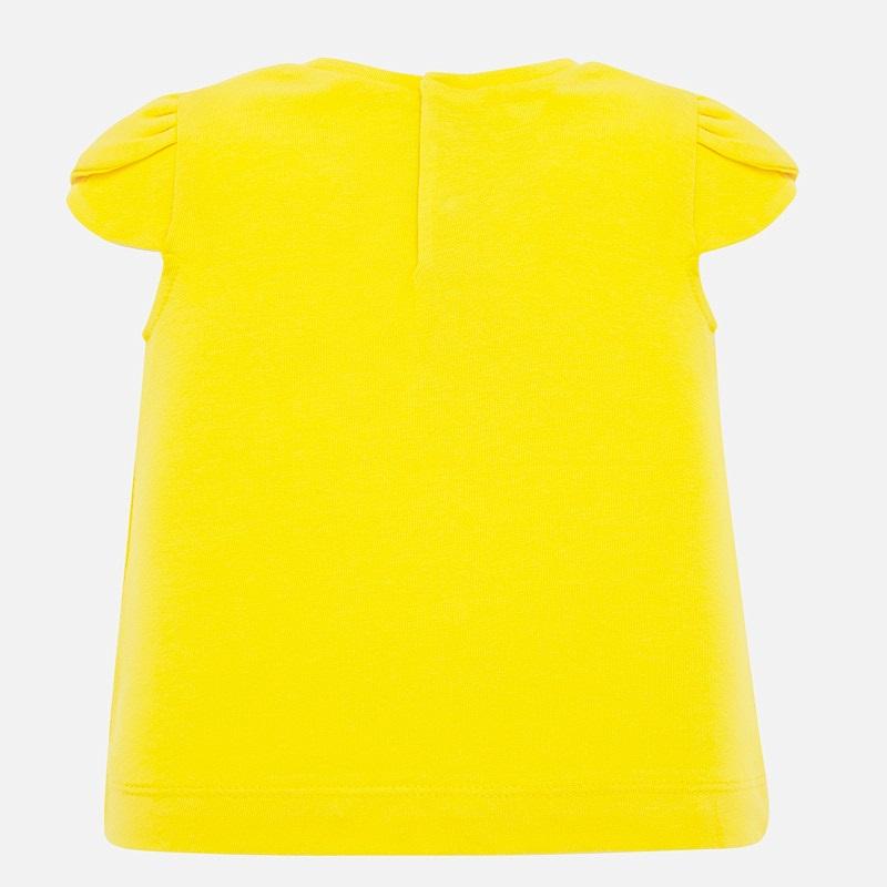 S/s t-shirt yellow