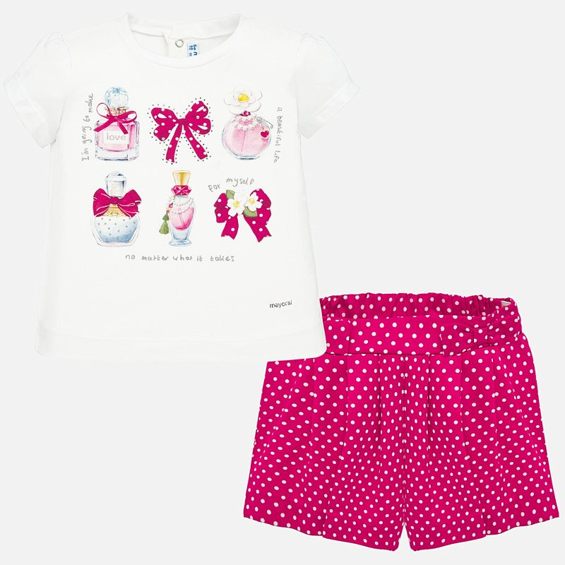 Shorts set strawberry