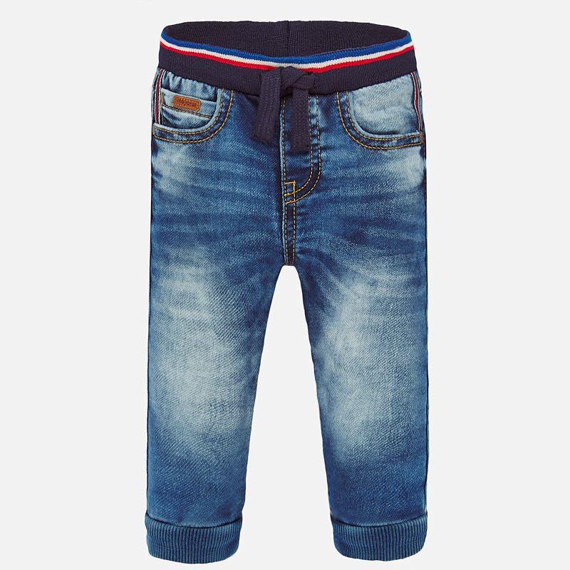 Denim jogger soft texan pants basic