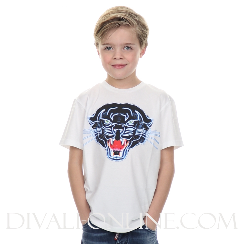 T-shirt panther  Withe