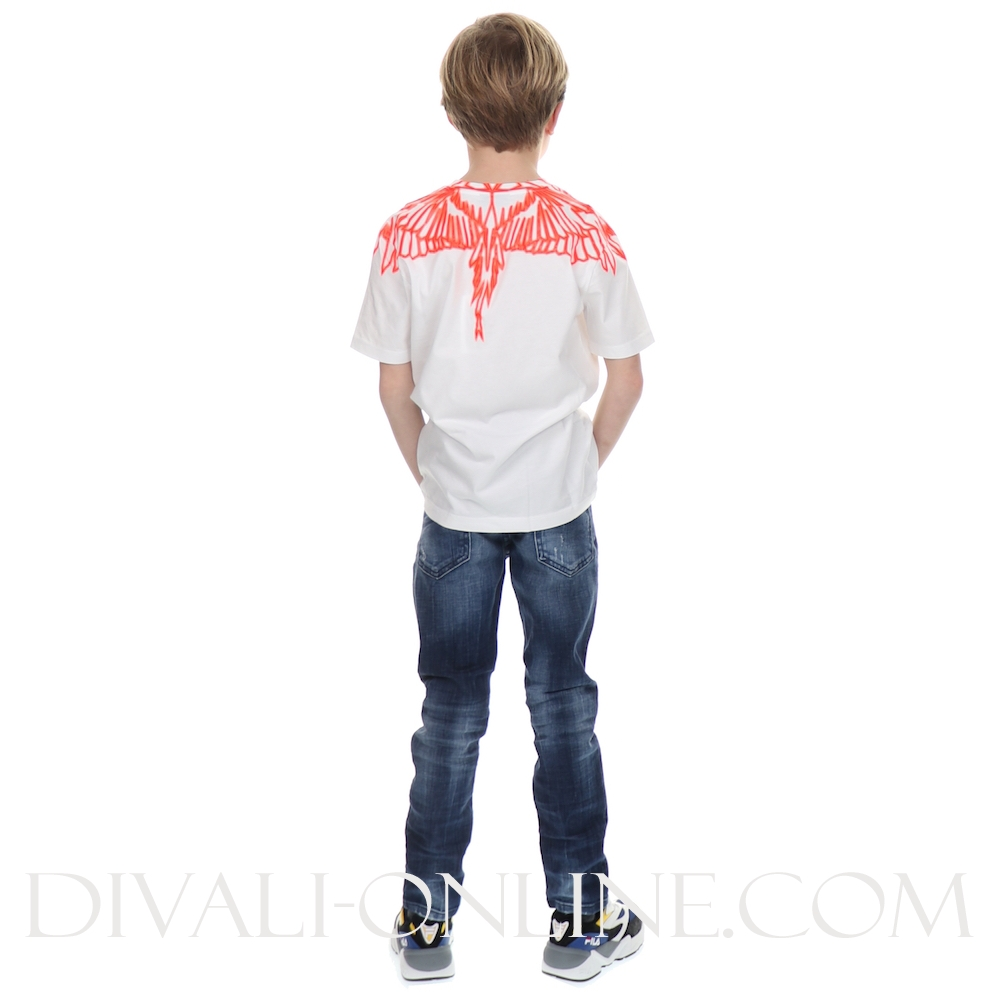 T-shirt wings Red  Withe