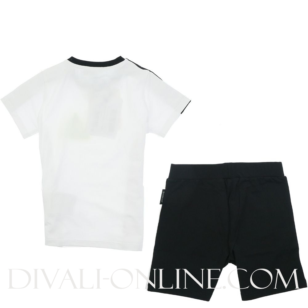 Completo T-shirt + Pant. Corto