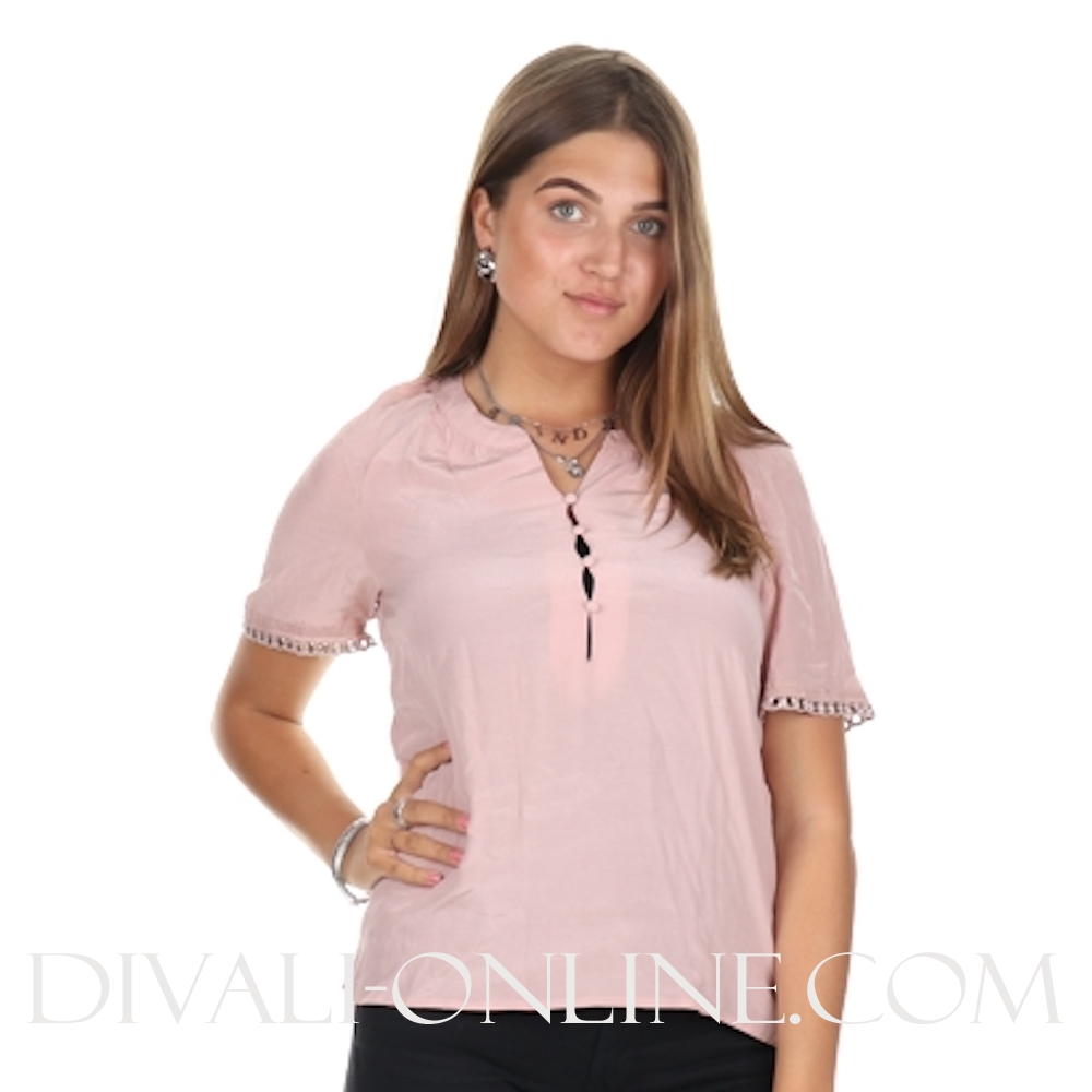 Tyge Top Misty Pink
