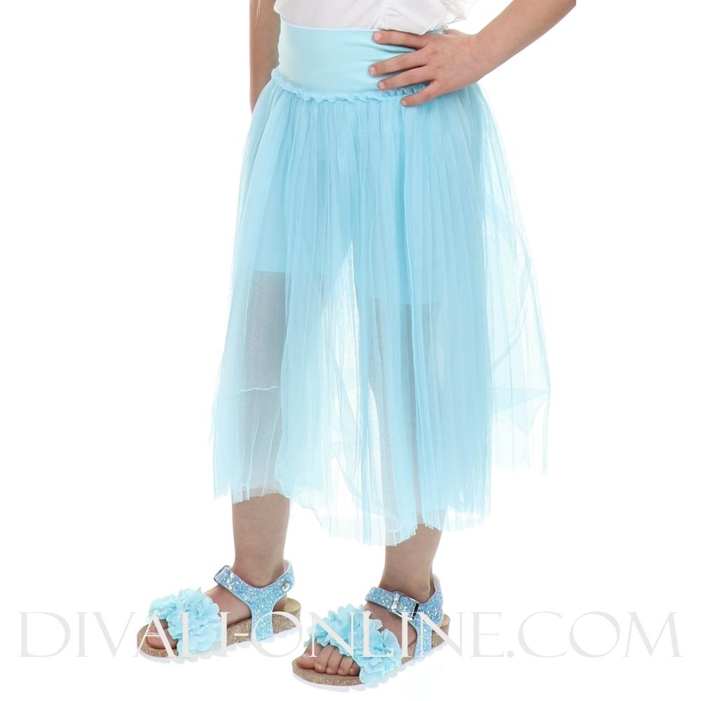 Rok Tulle C/shorts Menta