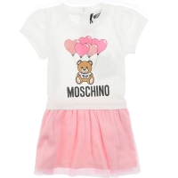 Moschino Dress White/pink