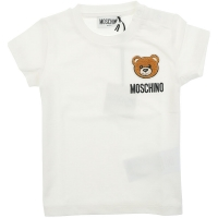 Moschino Maxi T-shirt Optical White