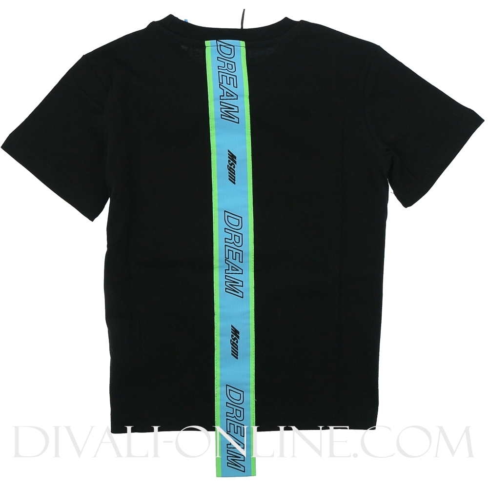 T-shirt Jersey Boy Black