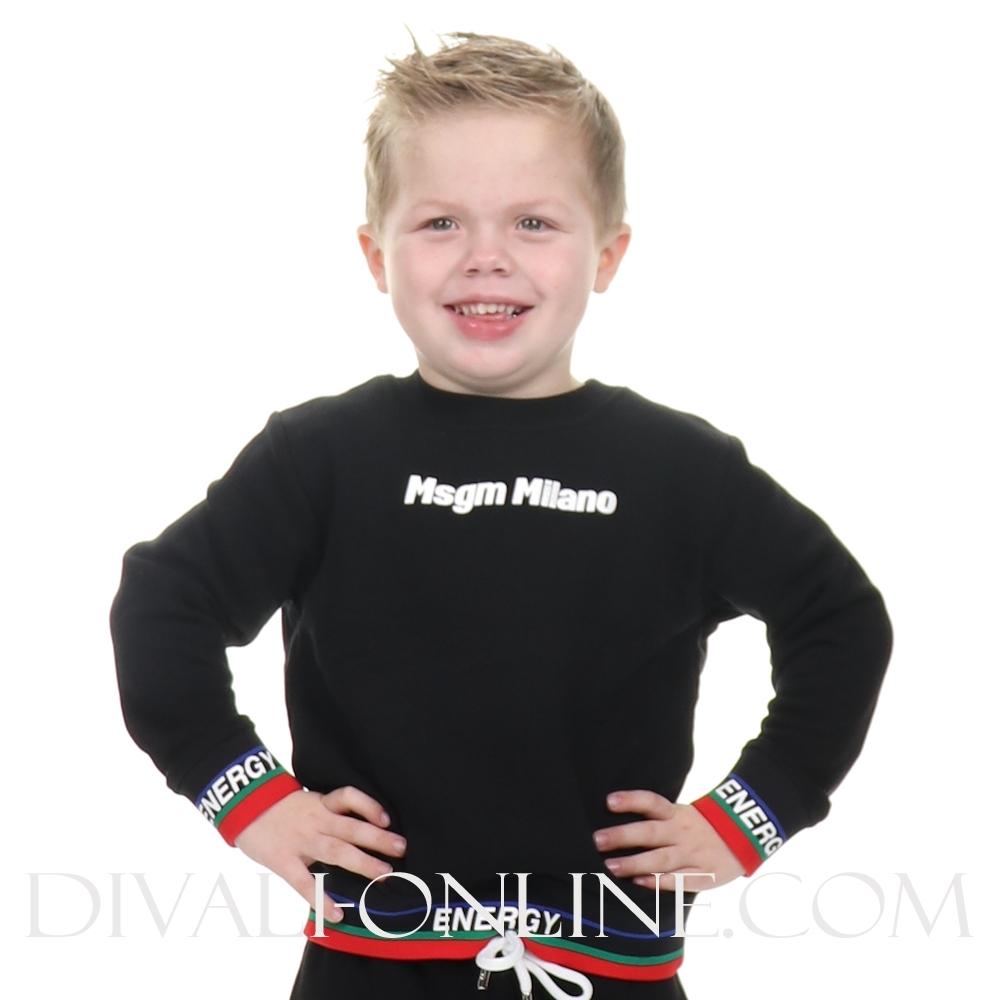 Sweatshirt Boy Black