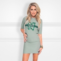 Nikkie By Nikkie Plessen Suzy Tee Dress Capri