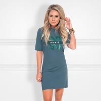 Nikkie By Nikkie Plessen Suzy Tee Dress Hunter