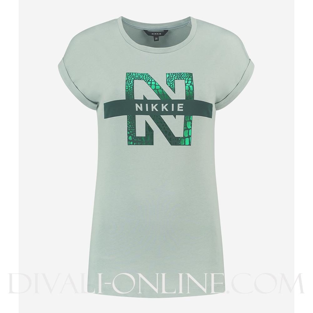 N Logo Snake T-Shirt Capri
