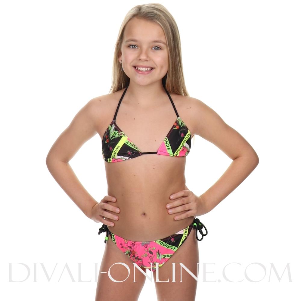 Bikini Fuchia Triangle