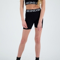Reinders Biker Short Entarsia True Black