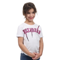 Reinders T-shirt Reinders Bolt Oversized White Pink Neon