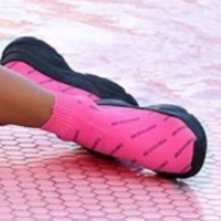 Reinders Reinders Shoes All Over Print Pink Neon