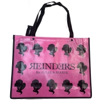 Shopping Bag Small Neon Pink