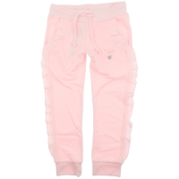 Le Chic Pants Ruffle In Cutseams Pretty In Pink