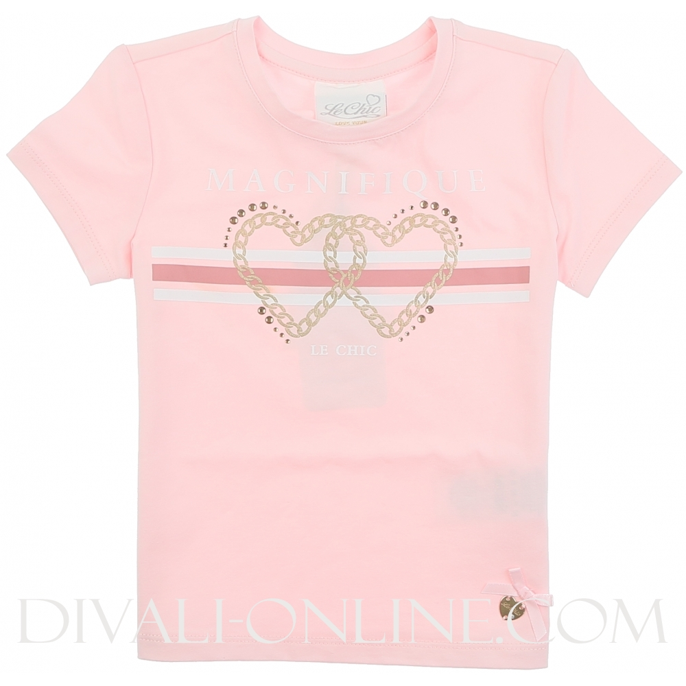 T-shirt Magnifique Le Chic Pretty In Pink