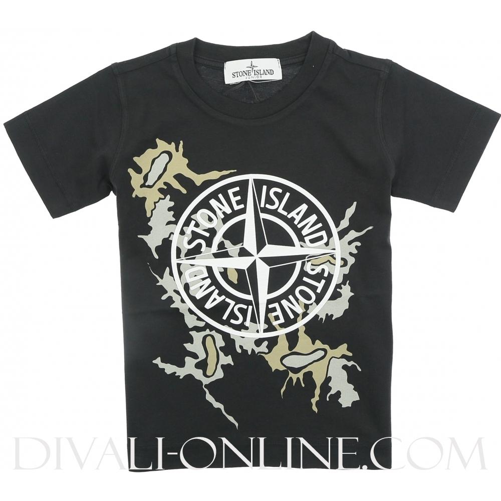T-Shirt Logo Zwart