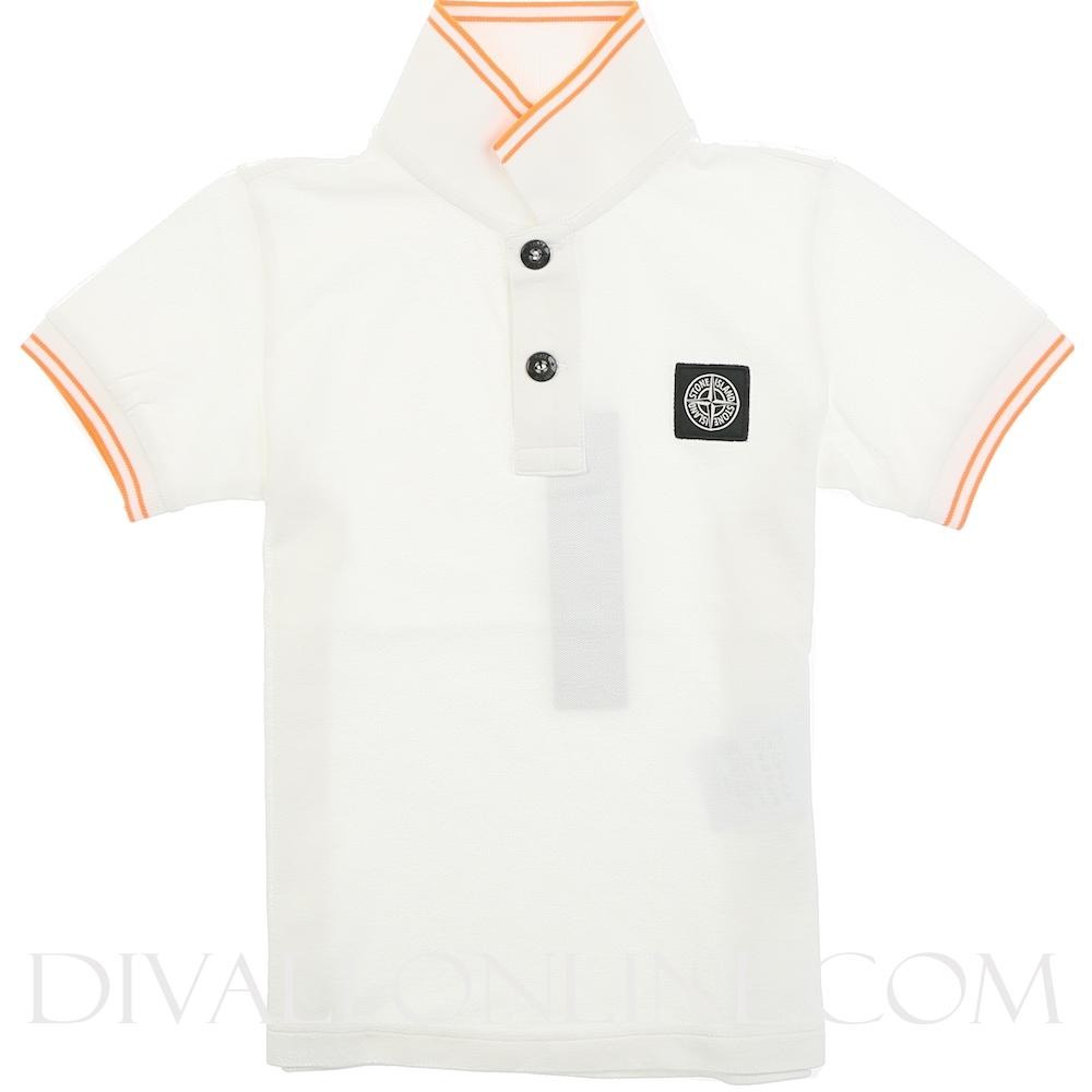 Polo Shirt Bianco