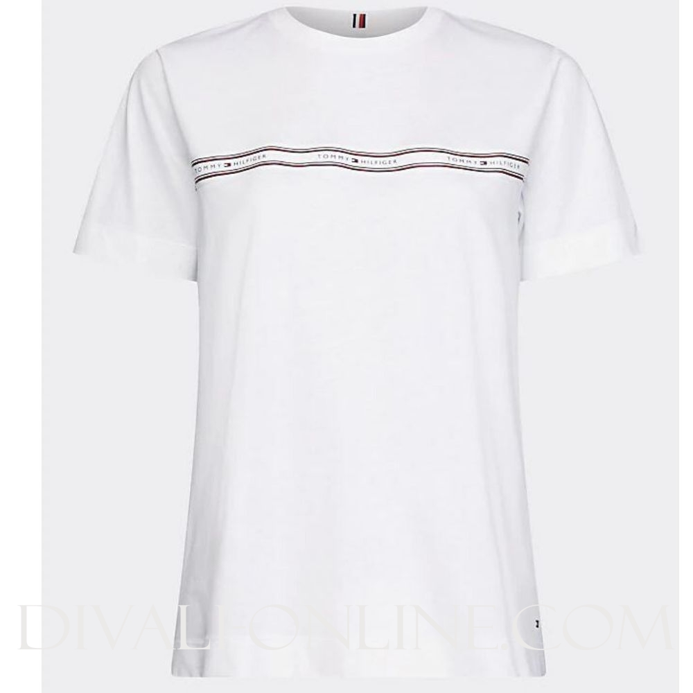 T-shirt Logotape White