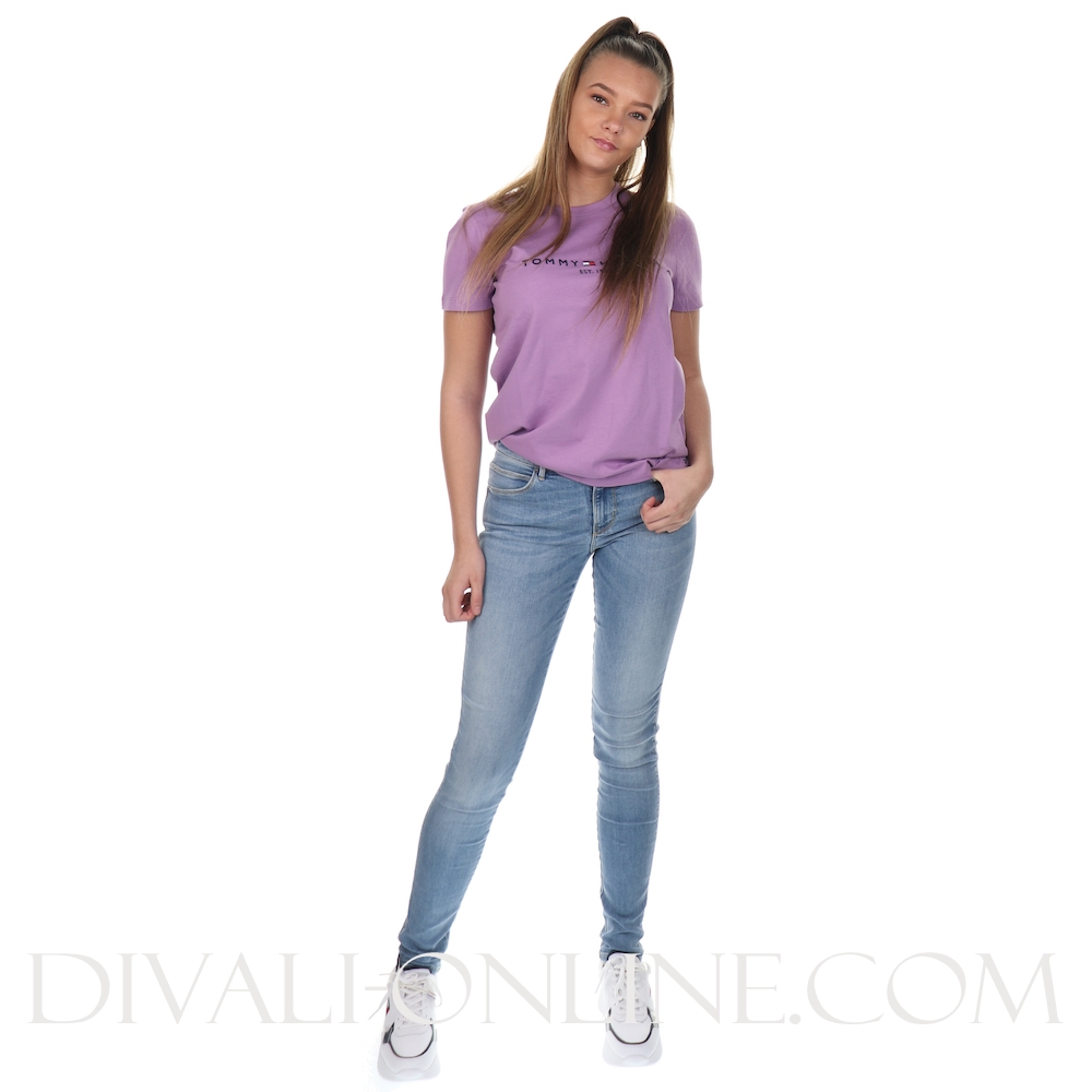 T-shirt New TH Ess Dusty Lilac